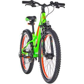 s'cool troX urban 24 21-S Børn, neon green